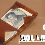 【3年半使用レポート】「薄い財布abrAsus(アブラサス)」を快適キャッシュレス生活のためにおすすめする理由